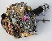 Brooch Bouquet Quirky and Eclectic