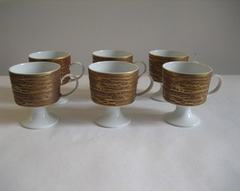Rosenthal China Studio Line Footed Demitasse Coffee Cups