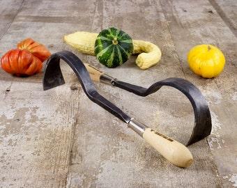 Garden Tool Hand Forged Heavy Duty Hand Hoe, Blacksmith Made