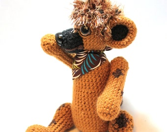 Spotted Hyena Doll