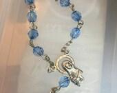 75 pcs  First communion favors / Mini  Rosary Baptism Favors / Baptism favors / Religious Mini Rosary / Narelo
