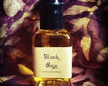 Black Sage Cologne - A Masculine Blend, for strength, power and courage