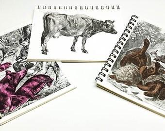 Animal Spiral-Bound Notepad