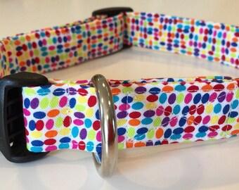 Tiny dots dog collar