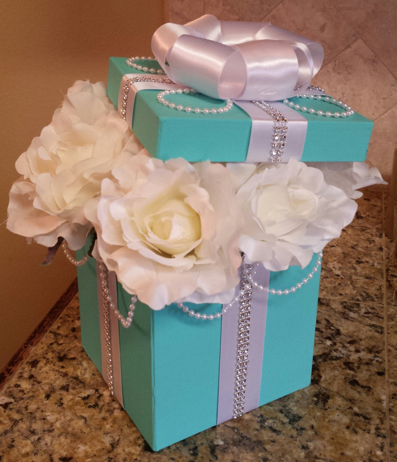 Tiffany Wedding Ideas: New Tiffany & Co Inspired Table Centerpieces For A Wedding