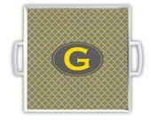 Customized Chevron - Serving Tray, Personalized, Shower Gift, Hostess Gift, housewarming Gift Teacher Gift