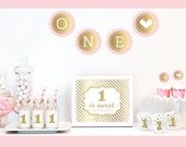 1st Birthday Party Decoration Kit