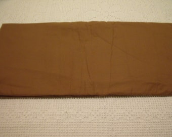 """Brand New Taupe Brown Flannel Fabric 36"""" x 44"""""""