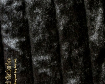 Faux Fur Mink Accent Rug - Ribbed Channel Mink Throw Rug - All Sizes and Colors