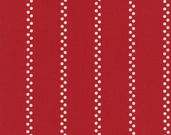 Moda - A'La Carte by American Jane - Bistro Stripe - Red