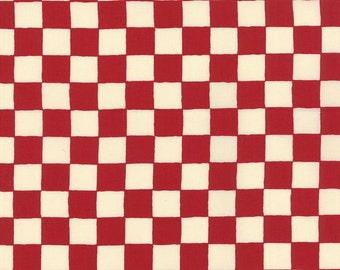 Moda - A'La Carte by American Jane - Checkerboard - Red