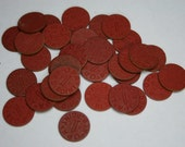 Lot of Vintage OPA Red Tokens - 35 pc