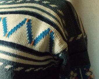 SALE  Vintage 50s Knit Sweater