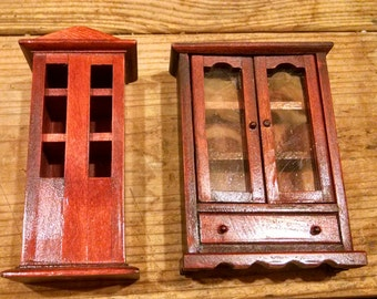 Mini china cabinet | Etsy