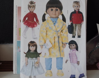 Butterick 3329   18 Inch Doll Clothes