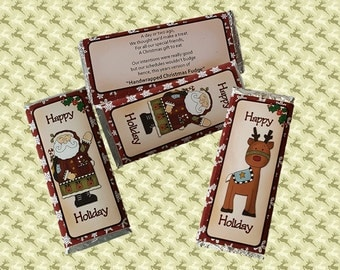 Digital Printable Hershey Candy Bar Wrapper 001
