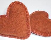 Pocket Hand Warmers Handwarmers Wool Rice Bags Eco Gift Valentine Heart