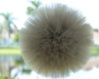 3 Old Willow tulle poms, party decorations, weddings, baby showers, room decor
