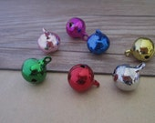 20pcs Mixed color Tinkle Bell  14mm