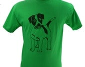 Jack Russell Terrier Dog T-Shirt Screen Printed Men's S M L XL 2XL