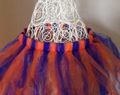 Tutu for Dance or Dress Up, for Baby, Toddler, Girls, Tween, Teen, Women and Runners! - Blue and Orange for NY Knicks  and Islanders