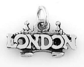 Sterling Silver London Bridge Charm (3d Charm)