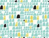 SALE   Cloud9 organic cotton fabric - Revelry Portal voile - 1/2 YD