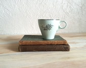 Vintage Mint Blue Teacup