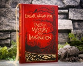 Hollow Book Safe - Edgar Allan Poe - Tales of Mystery and Imagination (LEATHER BOUND) [magnetic]