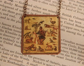 Greek Mythology jewelry Orpheus mixed media jewelry