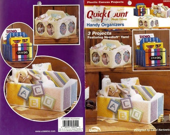 Quick Count Handy Organizers in Plastic Canvas Pattern Book The Needlecraft Shop 3053054