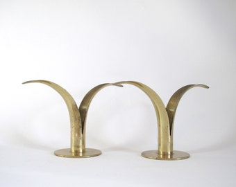 Ystad-Metall Lily Candle Holders