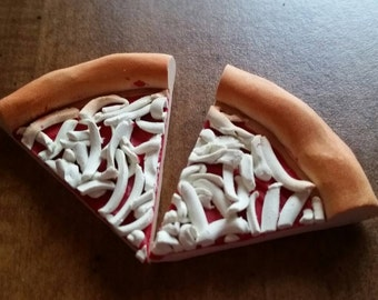 Pizza Slices (2) for American Girl sized Dolls