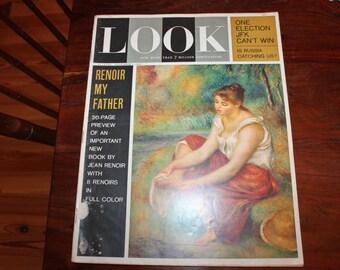 1962 LOOK Magazine, November 62