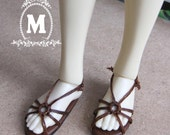 Spider Leather knitted rope slipper for U-noa MSD.