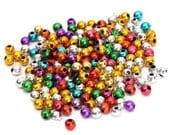 200 Spacer Beads Seamless Mixed Metallic Colors 4 mm Ships From The United States - sp040