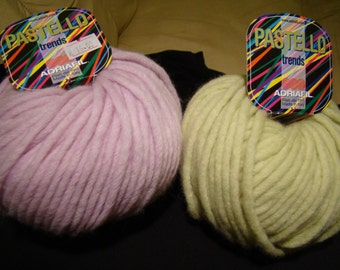 Pastello from Adriafil (Italy) - chunky yarn - SALE- only 4.49 USD
