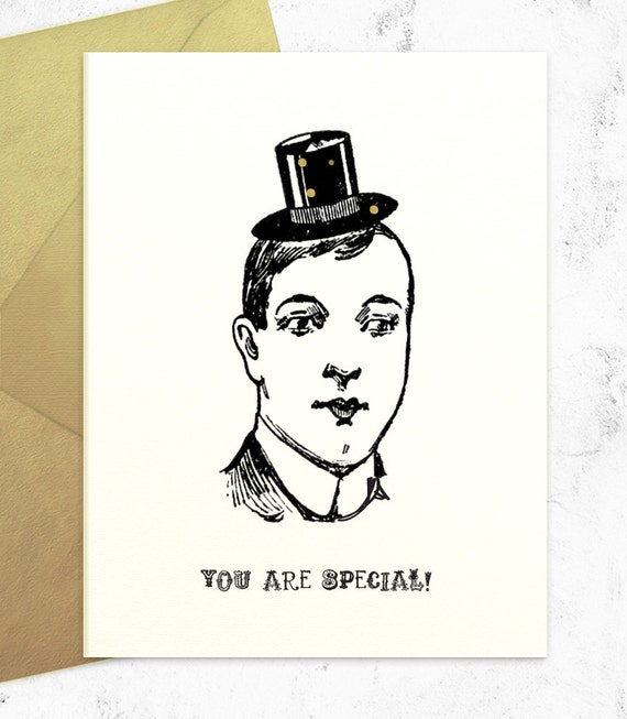 You Are Special - Funny Sarcastic Birthday Card