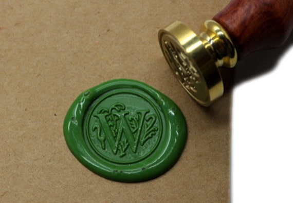letter wax seal s1139 alphabet letter w wax seal stamp sealing wax by 23296