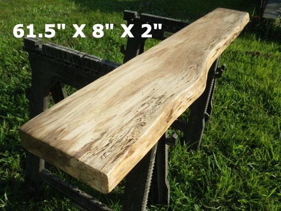 Live edge sycamore finished natural edge wood slab large for Finished wood slabs