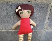 Mia the soft cloth girl rag doll
