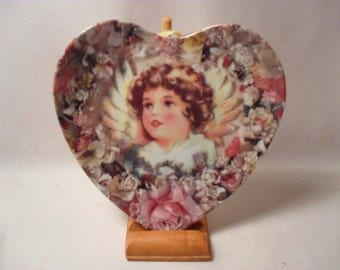Inspiration Plate by Thomas L Cathey from The Heavenly Hearts Collection.