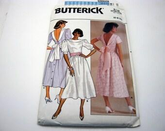 Butterick 3110 Pattern 1980's Girly Lolita Dress Short and Long 6-10 Vintage