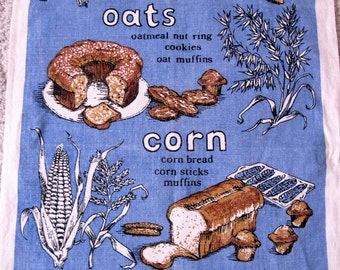 Vintage Daily Bread Kitchen Tea Towel by The Ryans