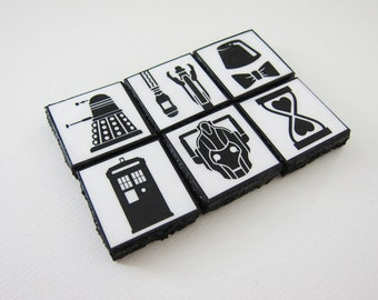 Doctor Who Magnets - Set of 6