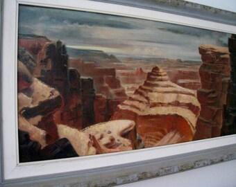 "Leo Nowak Southwestern California Artist oil  ""Stairway of Time"" Plein air  impressionism"