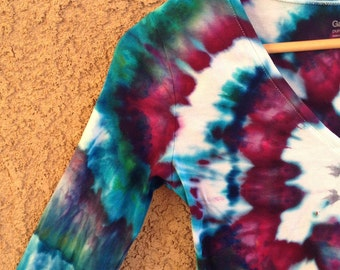 Ice Dyed - Tie Dyed - Long Sleeve Shirt