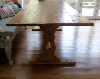 Rustic, Reclaimed Timber, Dining table 6ft x 3ft (approx)