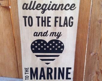 12x24 I Pledge Allegiance
