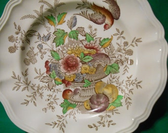 "One (1), 10 5/8"" Dinner Plate, from Royal Doulton, in the Hampshire D4161 Pattern."